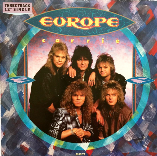 "Europe - Carrie (12"") (VG/G+)"
